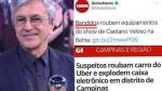 """Pela primeira vez na história, a Globo usa a expressão """"bandidos"""""""