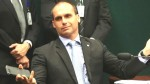 Eduardo Bolsonaro apresenta defesa contra Patrícia Lellis (Veja o Vídeo)
