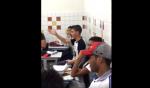 Aluno com camisa de Bolsonaro é expulso da sala de aula e não sai (Veja o Vídeo)