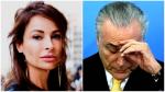 A mulher que hoje mora em Paris, responsável pelo inferno astral de Michel Temer