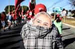 Número de participantes em caminhada para registro de Lula é vexatório