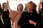 O samba de Cármen Lúcia, Raquel Dodge e a cantora Alcione (Veja o Vídeo)