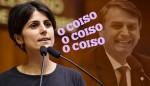 Manuela destila sua desonestidade e desumanidade contra Bolsonaro (veja o vídeo)