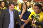 Miriam, míope, consegue criticar até oração realizada pelo presidente eleito (Veja o Vídeo)