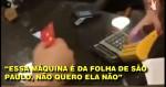 Consumidores pregam boicote às máquinas de cartão do Grupo Folha (veja o vídeo)