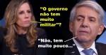 """General Heleno dribla """"pegadinhas"""" e expõe os benefícios no uso de militares no governo (veja o vídeo)"""