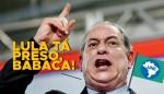 """Ciro repete Cid e diz no Congresso da UNE: """"O Lula tá preso Babaca"""" (Veja o Vídeo)"""