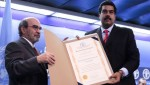 """A ONU  premiou Maduro pelo """"combate à fome"""""""