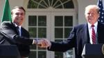 O encontro entre Bolsonaro e Trump e as reações das pessoas normais, da Folha e da esquerda caviar