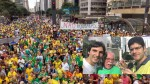 "Apoteótico: Na Paulista, Modesto Carvalhosa comanda o estrondoso ""Fora Gilmar!"" (Veja o Vídeo)"