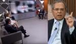 A estupenda invertida de Paulo Guedes em toda a bancada da Globo News
