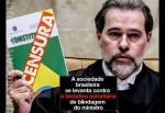 A sociedade brasileira se levanta contra a tentativa autoritária de blindagem do ministro