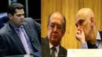 Prenúncio de Lava Toga: Alcolumbre desiste de encontro com Gilmar e Moraes