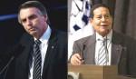 Bolsonaro e Mourão: vinho e vinagre
