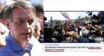 """Vergonha alheia: """"A que ponto chegará o 'jornalismo' da Veja?"""", questiona Bolsonaro"""
