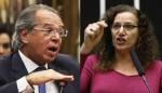 Paulo Guedes esmigalha acusações hipócritas de Jandira Feghali na Comissão Especial da Previdência (veja o vídeo)