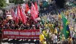 As diferenças cruciais nas manifestações da direita e da esquerda no Brasil