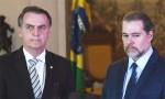 Bolsonaro defendeu a decisão de Toffoli?