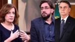 Míriam Leitão não perdoa Bolsonaro por ter humilhado o filho dela numa entrevista (Veja o Vídeo)