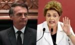 """Numa tacada só, Bolsonaro """"esculacha"""" Dilma e Folha de S.Paulo (Veja o Vídeo)"""