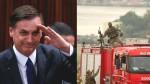 """Bolsonaro comemora a eficiência da polícia do RJ: """"Hoje não chora a família de um inocente"""""""