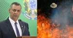 Porta-voz confirma ter recebido denúncias de incêndios criminosos (Veja o Vídeo)