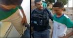 """Garoto pobre, humilhado por trabalhar, recebe o apoio da Polícia: """"Você é um herói"""" (veja o vídeo)"""