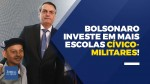 TV JCO - Bolsonaro investe na boa educação e lança 216 escolas Cívico-Militares (veja o vídeo)
