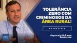 TV JCO - Terra sem lei: Deputado Ubiratan Sanderson exige tolerância zero para quem comete crimes nas zonas rurais (veja o vídeo)