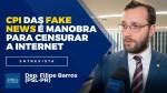 TV JCO - CPMI das Fake News é manobra para censurar a Internet e atacar o presidente Bolsonaro (Veja o Vídeo)