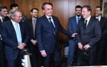 No Planalto, Bolsonaro comemora queda histórica da inflação em setembro, a menor desde 1998