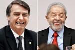 Sai pesquisa com Lula no cenário eleitoral para 2022 e aponta surra de Bolsonaro no petista