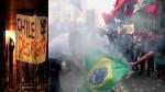 A esquerda quer incendiar a América Latina! A esquerda quer incendiar o Brasil...