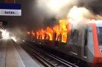 É guerra! Cubanos e venezuelanos são identificados em ação contra metrô de Santiago
