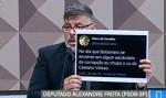 Passou vergonha: Alexandre Frota leva print de perfil falso acreditando ser verdadeiro para CPI das Fake News (veja o vídeo)