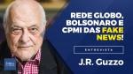 """""""Há uma guerra particular entre a Globo e o presidente da República"""", diz o jornalista J.R. Guzzo (Veja o vídeo)"""