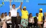 Bolsonaro é ovacionado e dá grito tribal na Paraíba (veja o vídeo)