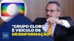 """""""Os irmãos Marinho transformaram o grupo Globo em grandes veículos de desinformação"""", afirma Abraham Weintraub"""