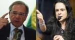 """Janaína Pascoal sobre Guedes: """"As preocupações do Ministro também são minhas"""""""