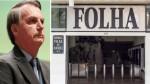 """Absurdo: TCU pretende """"obrigar"""" Bolsonaro a incluir a Folha em licitação"""