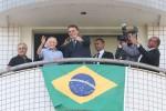 Herói brasileiro da 2ª Guerra que ajudou a combater o nazifascismo recebe a visita de Bolsonaro (veja o vídeo)