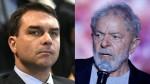 """Flávio e Lula, duas histórias com diferenças gritantes, que petistas e """"isentões"""" tentam nivelar"""