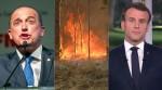 """Macron emudece sobre queimadas na Austrália e Onyx Lorenzoni detona: """"nunca se tratou de preservação ambiental, e sim de ideologia e mentiras"""""""