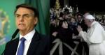 """O tapa do Papa: """"Já pensou se tivesse sido o Bolsonaro"""" (veja o vídeo)"""