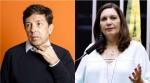 """Amoêdo defende Porta dos Fundos e Bia Kicis responde com veemência: """"Vilipêndio de fé alheia é crime"""""""