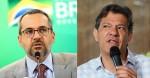Cansado de apanhar de Bolsonaro, Haddad arruma briga com Weintraub