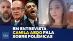 """Jornalista Camila Abdo detona youtubers """"aproveitadores"""", poder paralelo do STF e muito mais (veja o vídeo)"""