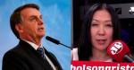 """Bolsonaro detona livro de Thaís Oyama: """"Leu meus pensamentos [...] Fake news e mentiroso!"""" (veja o vídeo)"""