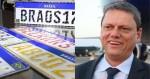 "Ministro Tarcísio: ""Corrigimos todos os pontos polêmicos da antiga Placa Mercosul"""
