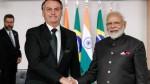 """Bolsonaro anuncia série de acordos com a Índia: """"A confiança do mundo no Brasil está de volta!"""""""